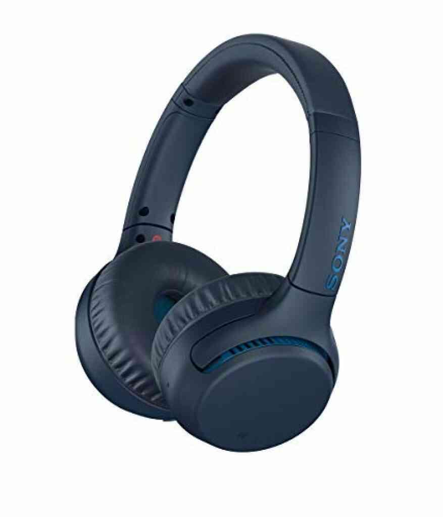 Sony WH-XB700 Casque sans fil Bluetooth Extra Bass 360 Reality Audio Optimisé pour les assistants vocaux comme Alexa et l'Assistant Google - Bleu 1