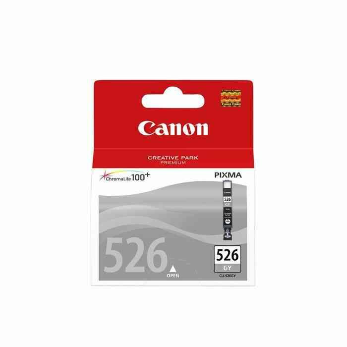 CANON Cartouche dencre CLI-526 GY - Gris 1