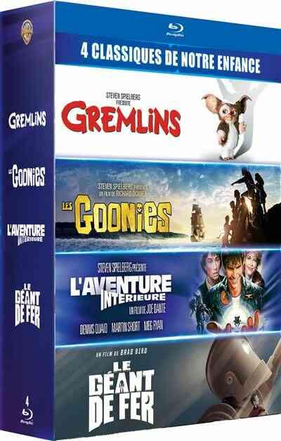Coffret 4 classiques de notre enfance Blu-ray 1