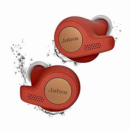 Jabra Elite Active 65t Écouteurs - Écouteurs de sport Bluetooth à Isolation passive du bruit avec capteur de mouvement pour le suivi - Sans fil - Rouge cuivr 1