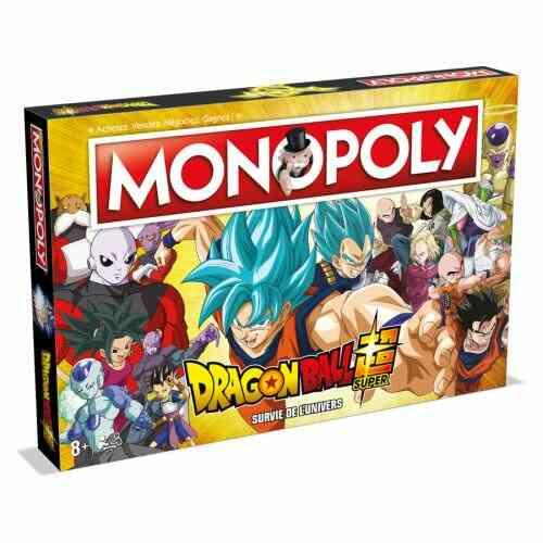 Jeu classique Monopoly Dragon Ball Super 1