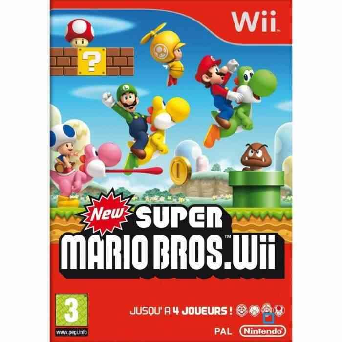 NEW SUPER MARIO BROS / JEU CONSOLE NINTENDO Wii 1