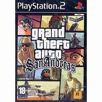 GTA SAN ANDREAS / jeu console PS2 1