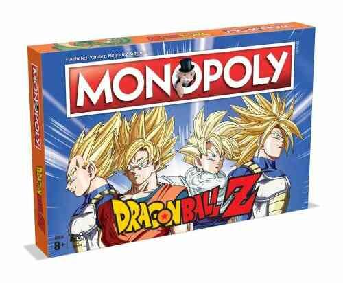 Jeu de société Winning Moves Monopoly Dragon Ball Z 1