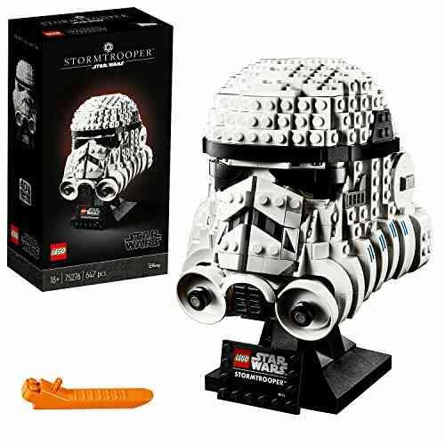 LEGO Star Wars Casque de Stormtrooper, jeu de construction, Modèle à construire et collectionner, 647pièces, 75276 1