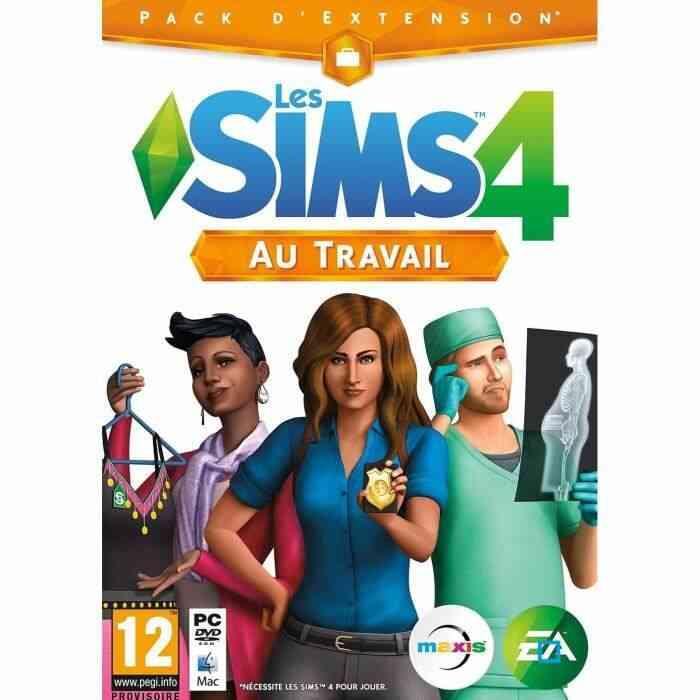 Les Sims 4 Au Travail Jeu PC 1