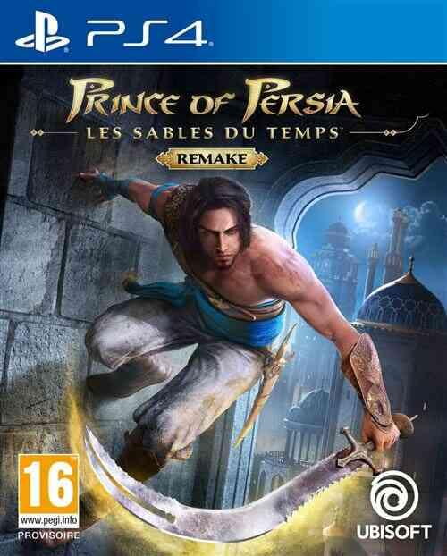 PRINCE OF PERSIA : LES SABLES DU TEMPS REMAKE PS4 1