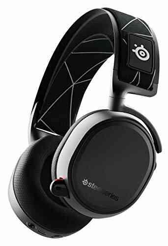 SteelSeries Arctis 9 - Casque Gaming Double sans Fil - Audio sans Fil 2,4 GHz sans Perte + Bluetooth - Pour PC et PlayStation 1