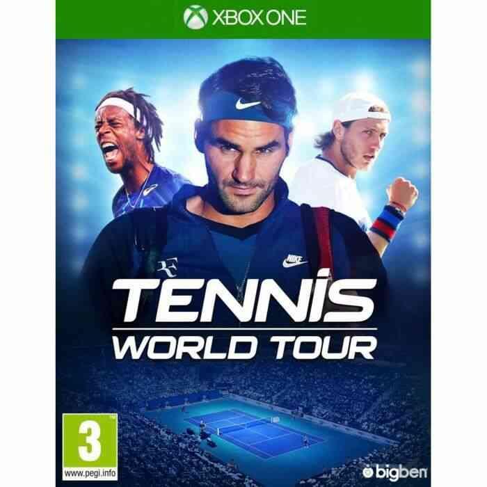 Tennis World Tour jeu Xbox One 1
