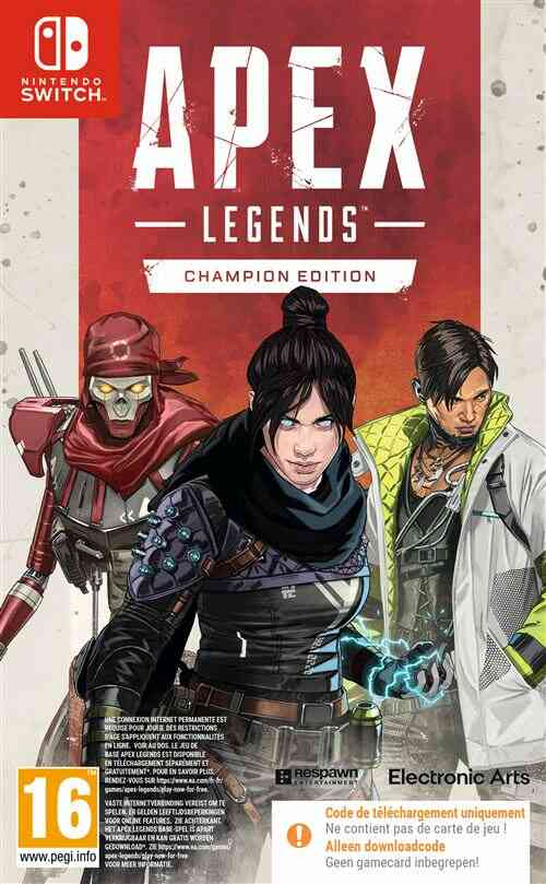 - Précommande - Apex Legends Edition Champions Nintendo Switch 1