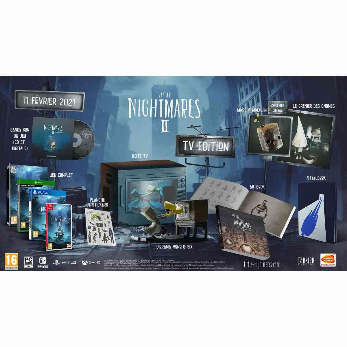 - Précommande - Little Nightmares II TV Edition PS4 1