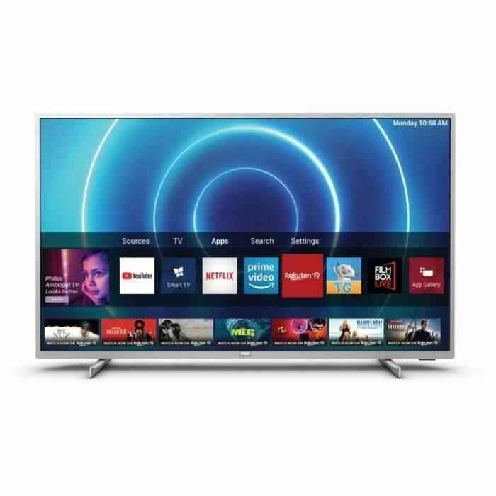 PHILIPS 50PUS7555/12 TV LED UHD 4K - 50-(126cm) - Dolby Vision - Son Dolby Atmos - Smart TV - 3xHDMI - 2xUSB - Classe énergétique A+ 1