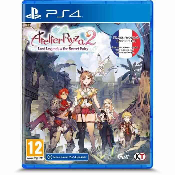Atelier Ryza 2 : Lost Legends & The Secret Fairy Jeu PS4 1