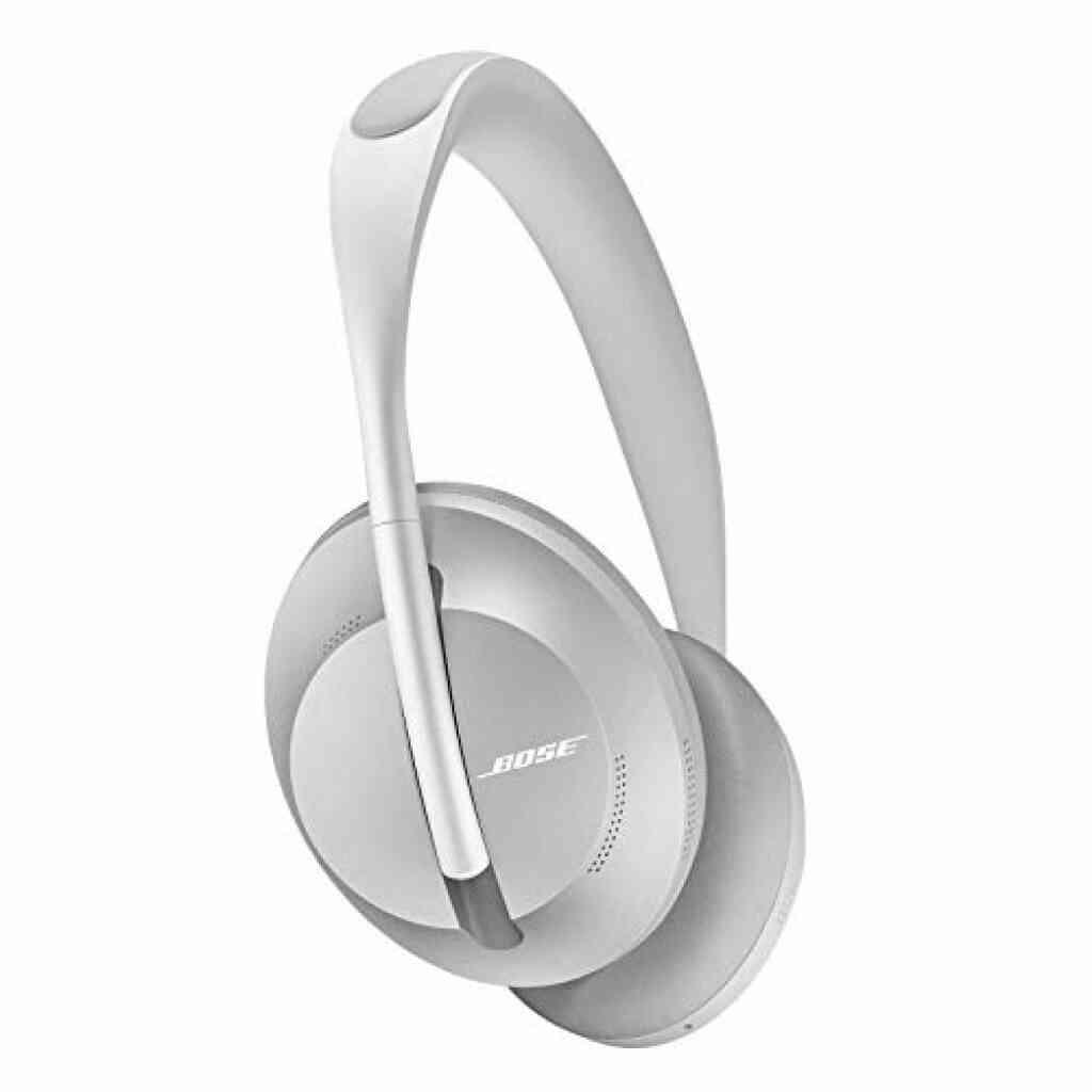 Bose Noise Cancelling Headphones700- Casque Bluetooth à Réduction de Bruit sans Fil Doté du Contrôle Vocal d'Alexa, Argent 1