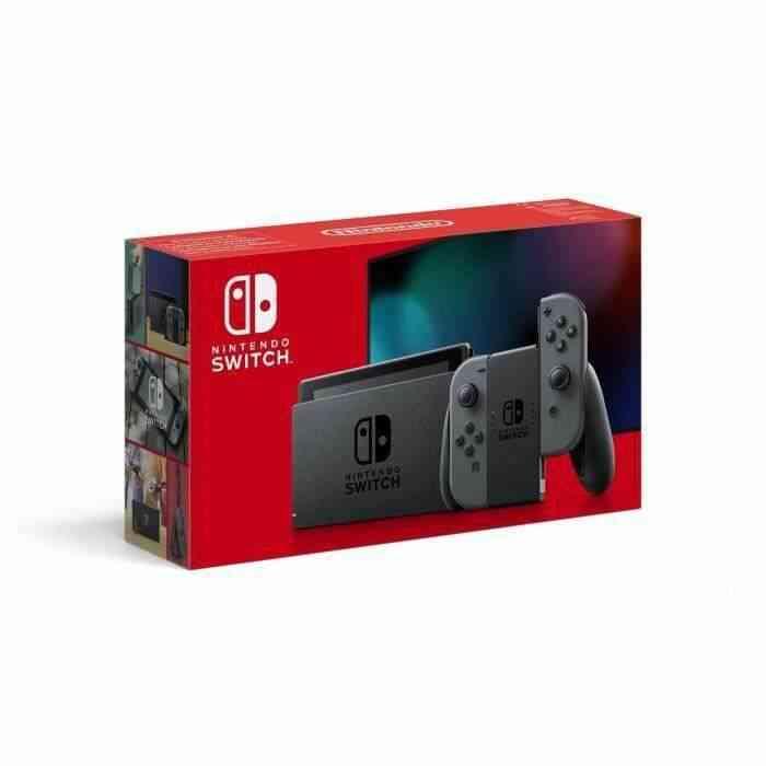 Console Nintendo Switch avec une paire de Joy-Con grises : Nouvelle version, Meilleure autonomie 1