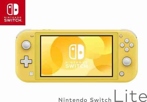 Console portable Nintendo Switch Lite Jaune 1