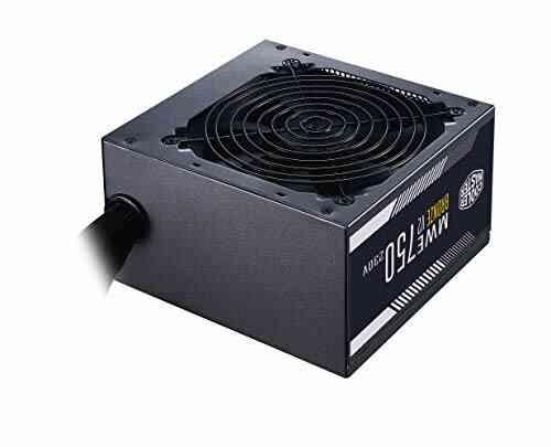 Cooler Master MWE 750 Bronze 230V V2 - Bloc d'alimentation, 80 PLUS Bronze, ventilateur HDB sensible à la température, circuit DC-DC + LLC avec rail simple + 1