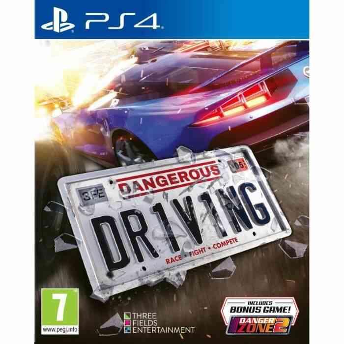 Dangerous Driving Jeu PS4 1