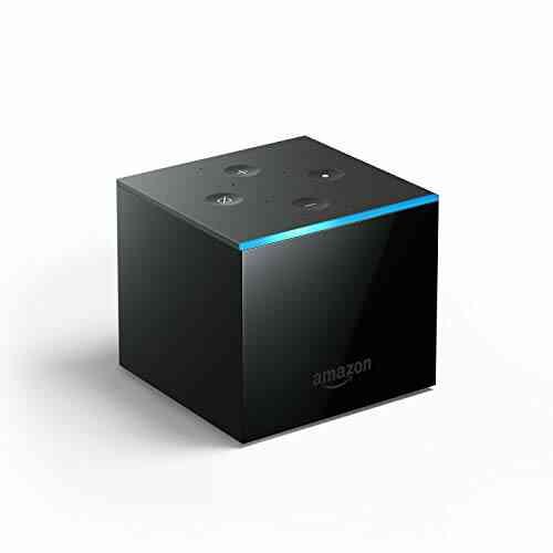 Découvrez Fire TV Cube, Mains-libres avec Alexa, lecteur multimédia en streaming 4K Ultra HD 1