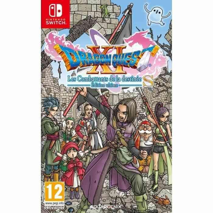 Dragon Quest XI S : Les Combattants de la Destinée - Edition Ultime Jeu Switch 1