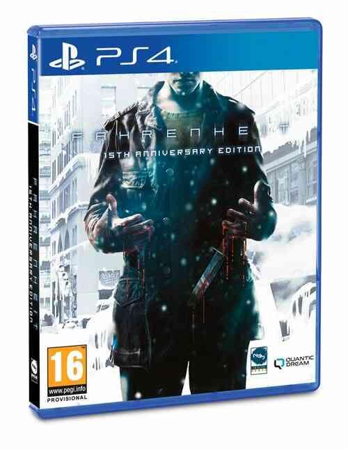 Fahrenheit 15th anniversary Edition Jeu PS4 1
