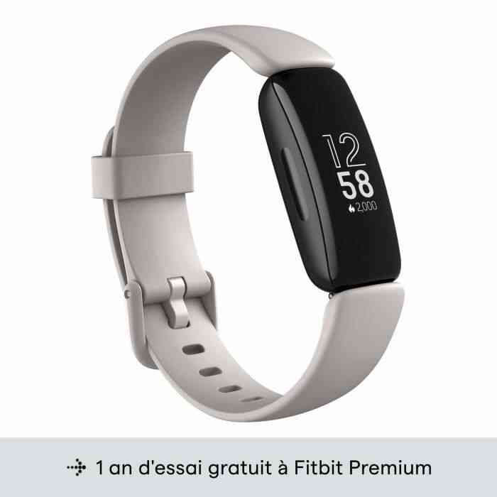FITBIT Inspire 2 - Bracelet connecté - Autonomie 10 jours - Blanc 1