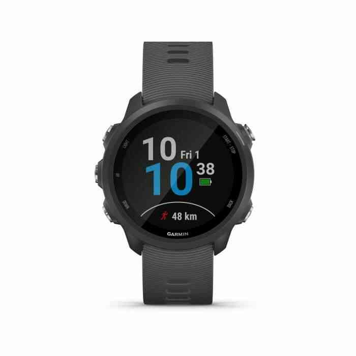 Garmin Forerunner 245 - Montre GPS connectée pour la course avec fonctions dentraînement avancées - Gris 1