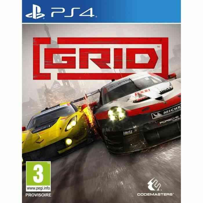 GRID Jeu PS4 1