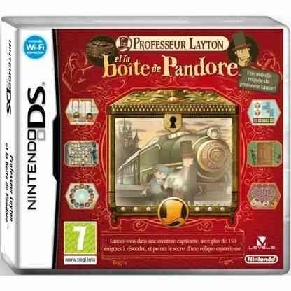 PROFESSEUR LAYTON ET LA BOITE DE PANDORE / JEU CON 1