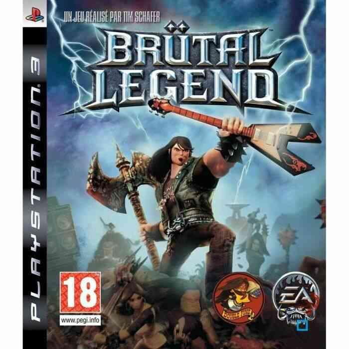 BRUTAL LEGEND / JEU CONSOLE PS3 1
