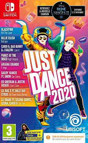 Just Dance 2020 Fra Switch Code In Box (Nintendo Switch) 1