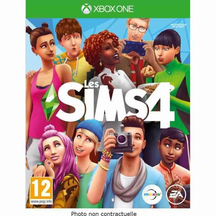 Les Sims 4 Jeu Xbox One 1