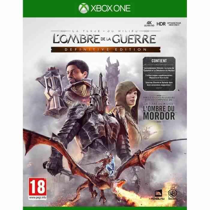 LOmbre de la Guerre Definitive Edition Jeu Xbox One 1