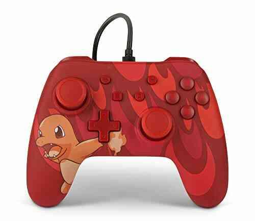 Manette filaire PowerA Pokémon pour Nintendo Switch - Charmander Blaze 1
