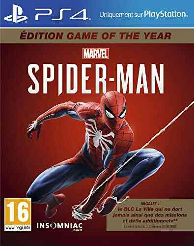 Marvel's Spider-Man pour PS4 - Edition Game Of The Year (GOTY) 1