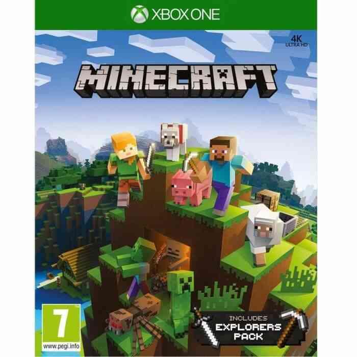 Minecraft Pack Explorateur Jeu Xbox One 1