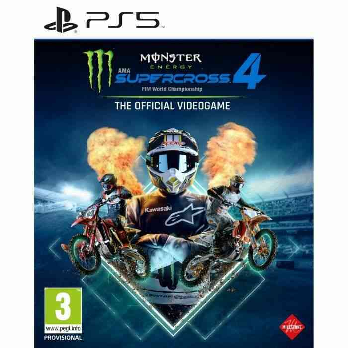 Monster Energy Supercross : The Official Video Game 4 Jeu PS5 1