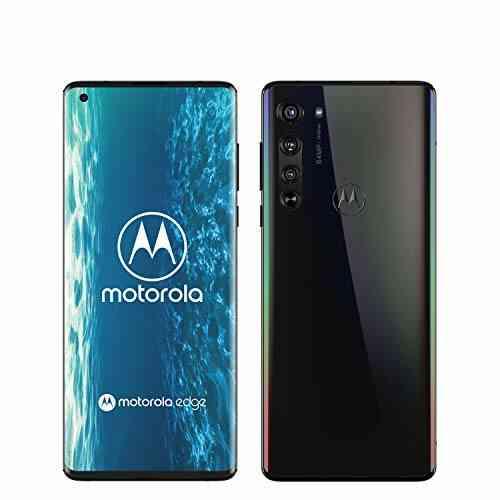 """Motorola Edge Smartphone débloqué 5G (Ecran 6.7"""" FHD+ incurve 90°, processeur Qualcomm Snapdragon SM7250, caméra Principale 64MP, Batterie 4500 mAH, Dual SI 1"""