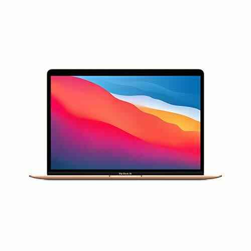 Nouveau Apple MacBook Air avec Apple M1 Chip (13Pouces, 8Go RAM, 512Go SSD) - Or (Dernier modèle) 1