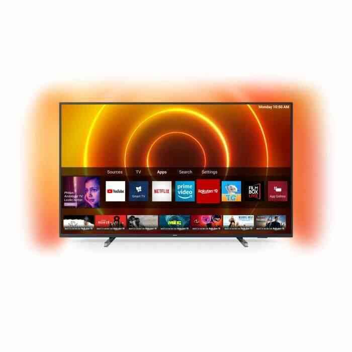 PHILIPS 58PUS7805 TV LED 4K UHD Ambilight 3 côtés - 58-(146cm) - Dolby Vision - Smart TV - 3xHDMI - 2xUSB - Classe énergétique A 1