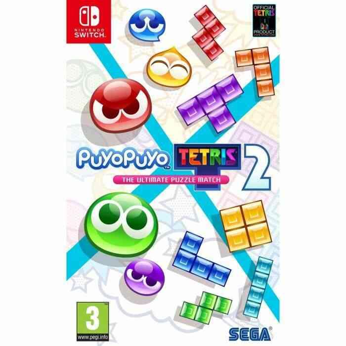 PUYO PUYO TETRIS 2 Launch edition 1