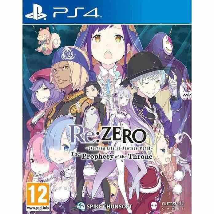 Re-zero The Prophecy Of The Throne Badge Edition sur PS4, un jeu Aventure pour PS4. 1
