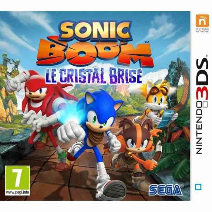 Sonic Boom : Le Cristal Brisé Jeu 3DS 1