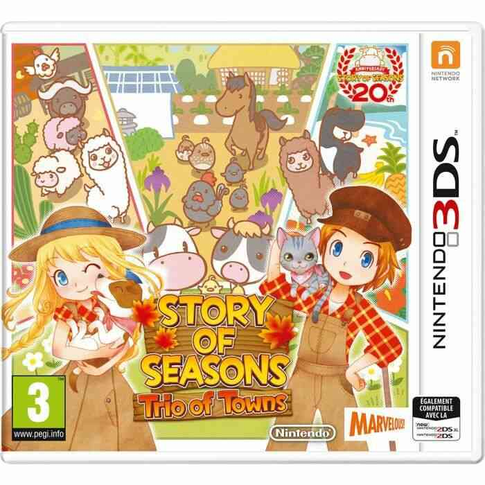 Story of Seasons: Trio of Towns 1