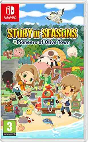 Story Of Seasons Pioneers of Olive Town Nintendo Switch 1