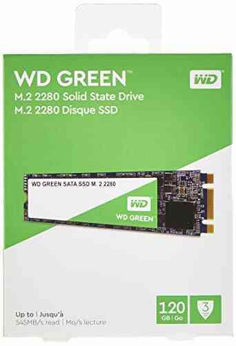 WD Green 120Go Internal SSD M.2 SATA 1