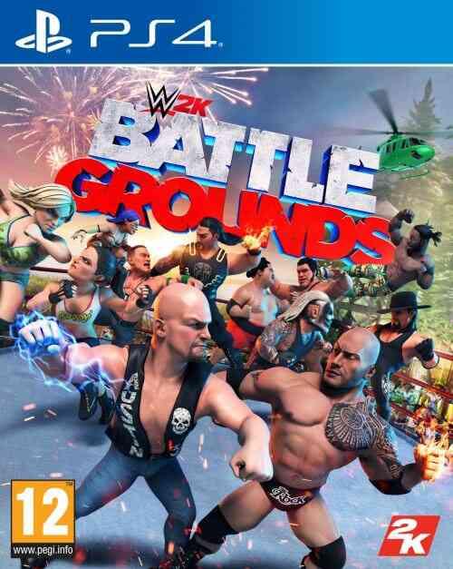 WWE 2K Battlegrounds PS4 1