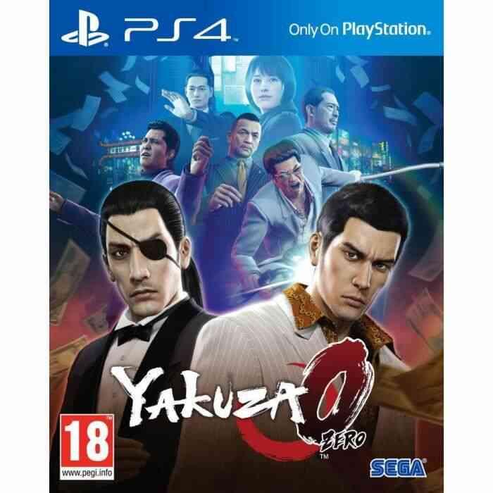 Yakuza 0 Jeu PS4 1