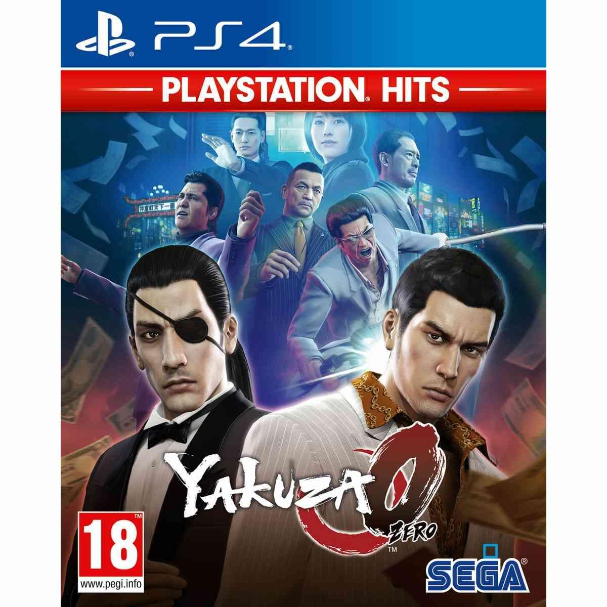 Yakuza Zero - Playstation hits - PS4 1