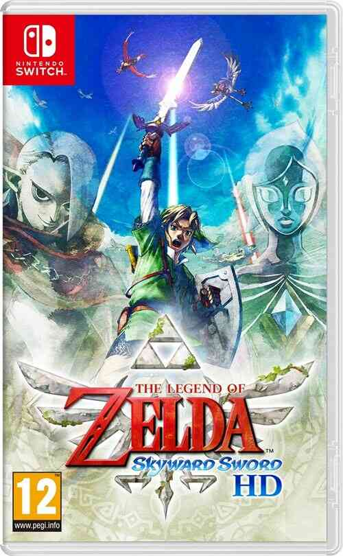 - Précommande - The Legend of Zelda : Skyward Sword HD Nintendo Switch 1